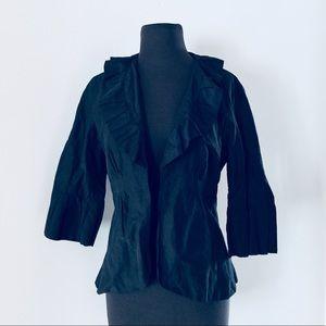 ❗️Cabi Black Ruffled Blazer MSRP $118!